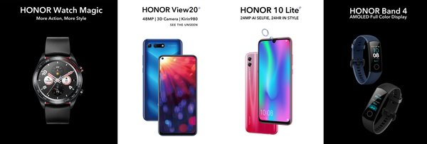 Latest range of HONOR devices land in Singapore