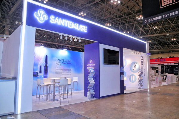 Huadong Ningbo Medicine showcases biotechnological skincare brand SanteMuse at COSME TOKYO 2019 in Japan
