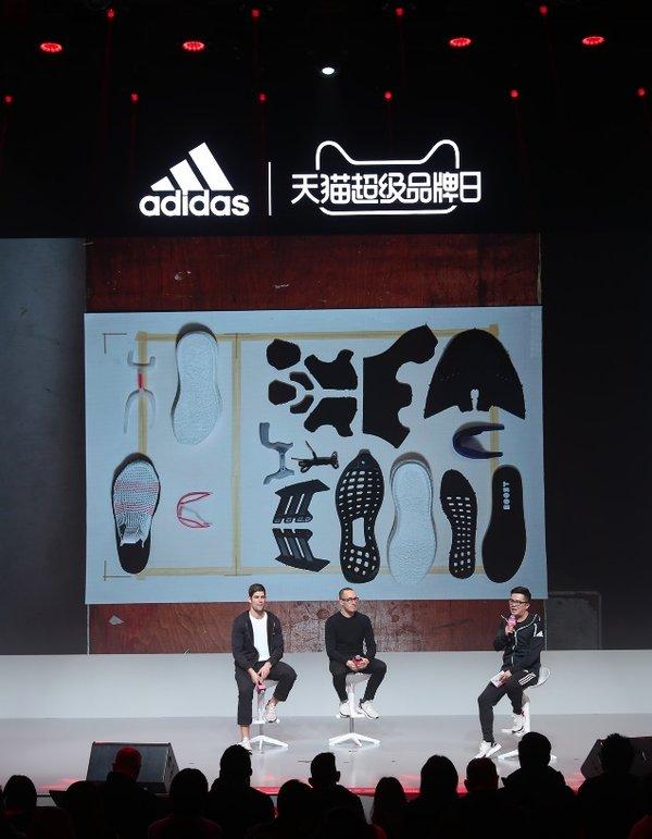 阿迪达斯的设计副总裁Sam Handy以及资深产品经理Stephan Schneider