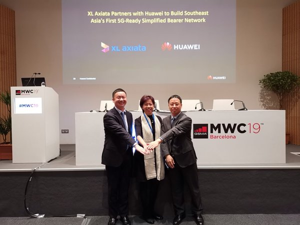 XL Axiata Partners with Huawei to Build Southeast Asia's First 5G Ready Simplified Transport Network