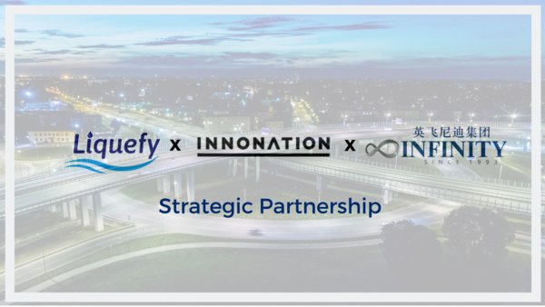 Liquefy, a technology solution that enables innovative business models through blockchain technology and digitization, has announced its partnership with Infinity Group, a China, Israel and US based cross border investment fund with over US$1.5bn in AUM; and Innonation, a platform that fosters cross border relationships between Israeli and Chinese entities.
