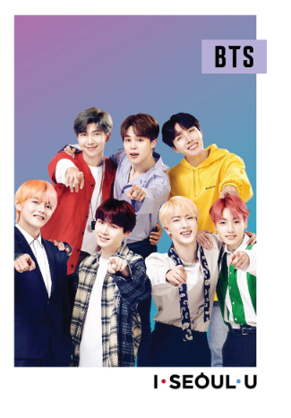 BTS Edition photo postcard