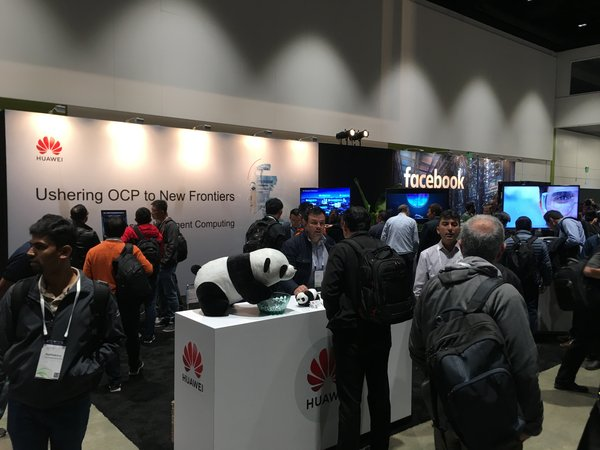 Huawei Booth in OCP Global Summit