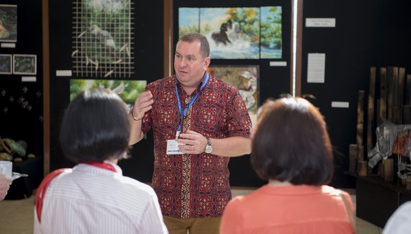 David Butcher, The Principal of British School Jakarta