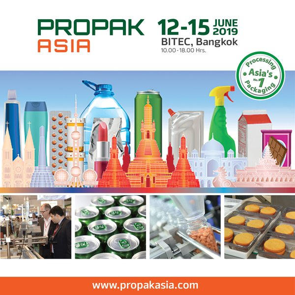 Space at ProPak Asia 2019 in High Demand With Limited Stands Remaining