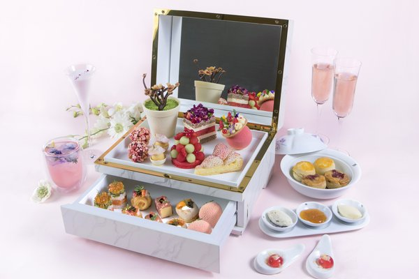 Waldorf Astoria Beijing launches PINK|Rosé afternoon tea