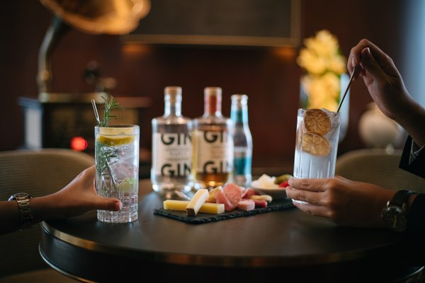 A wide variety of gin is available from the Gin Trolley. Mixologist will tailor a G&T to your likelihood.