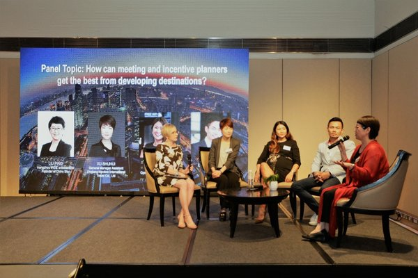 Hangzhou promotes itself as the new economy MICE destination for Singapore's buyers