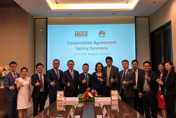 TSE and Huawei signed the Cooperation Agreement for over 150 MW Japanese Solar Farm