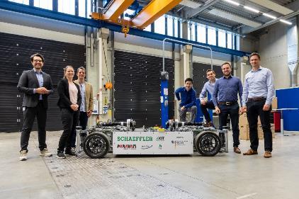 舍弗勒OmniSteer研究项目完成 为电动汽车开发创新转向系统