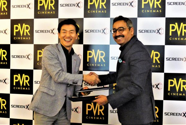 PVR Cinemas and CJ 4DPLEX extends their association to bring 270-degree Panoramic movie watching experience to India
