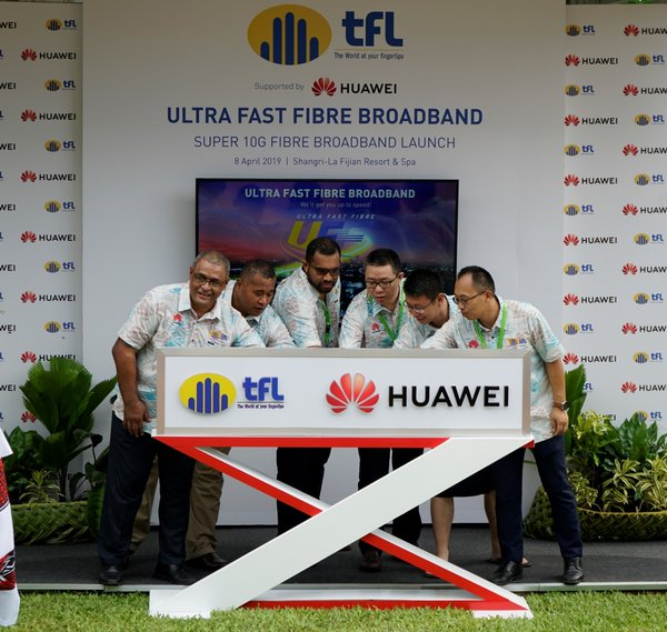 Telecom Fiji Limited partners with Huawei to deploy the first ultra-fast fiber broadband in the South Pacific Islands