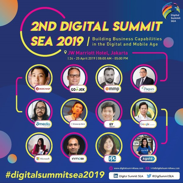 2nd Digital Summit SEA, Jakarta - Complete Info