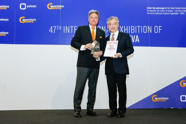 Sino Group Innovations Honoured at the 47th International Exhibition of Inventions Geneva
