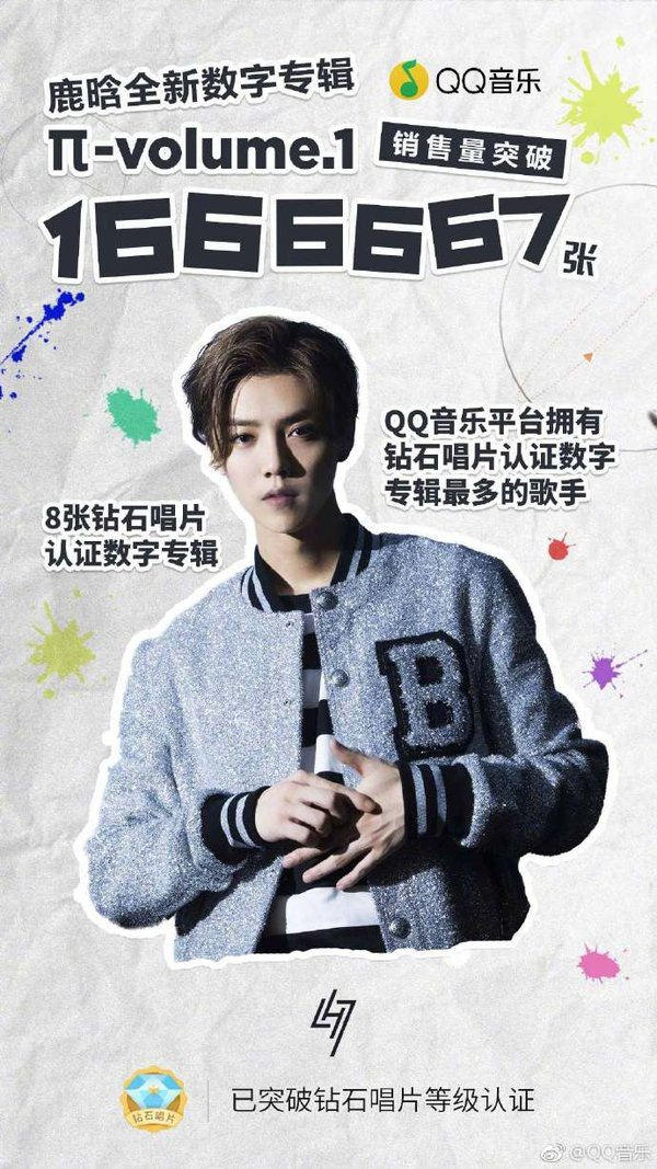 The Arrival of LU HAN's New Album - Feeling Han's musical storm on QQ music
