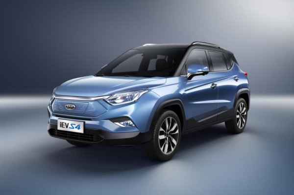 JAC Motors Unveils iEVS4 at Shanghai Auto Show 2019, Sets New Benchmark for Electronic SUV Battery Performance