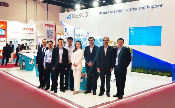 NEXGO亮相Seamless Middle East 2019迪拜展