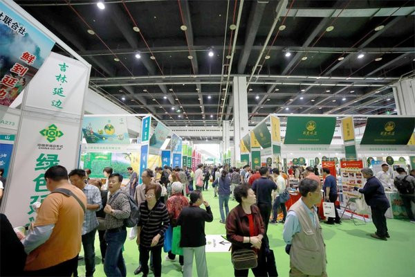 CAF上海农博会往年现场图