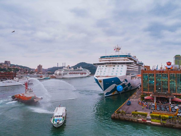 Majestic Princess, based in Keelung port, provides various itineraries to Japan and to Korea for Taiwan guests