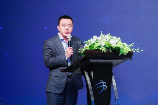 Zhang Bing, CEO of Jiuye SCM in Series C+ funding ceremony