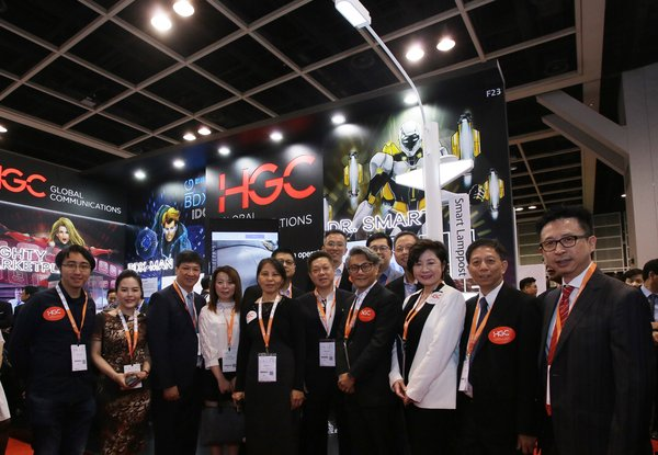A large number of guests were drawn to the HGC booth at Cloud Expo Asia to obtain the latest information on Smart Solutions.