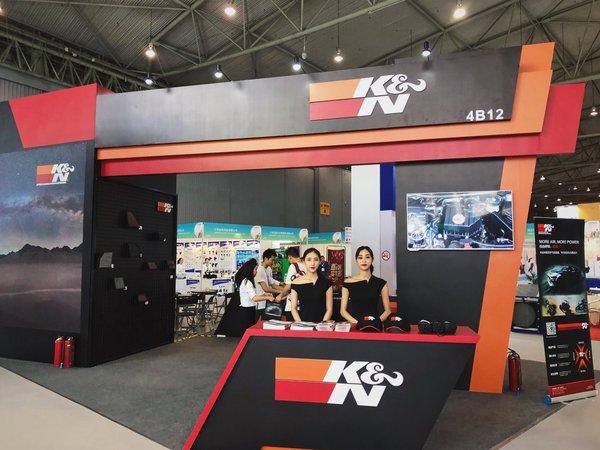 K&N携全产品线全新亮相CAPAS成都展