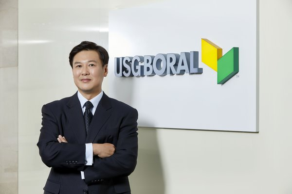 Hyuk-Joon Kwon, newly appointed CEO of USG Boral Korea