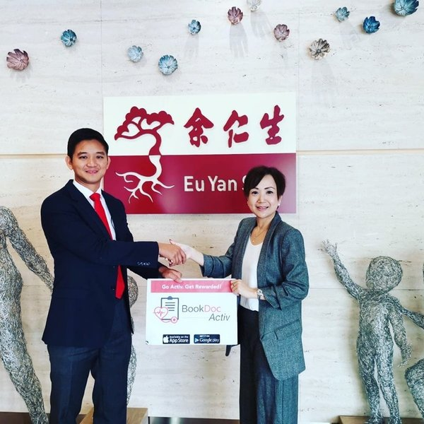 The largest Traditional Chinese Medicine (TCM) player in South East Asia (SEA), Eu Yan Sang, joins BookDoc as a new Activ Reward Partner