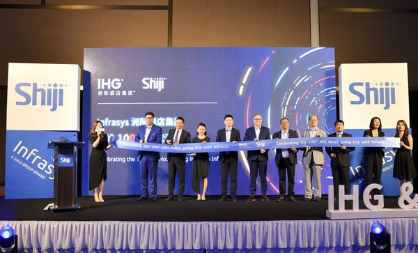 InterContinental Hotels Group and Shiji Group Strengthen Partnership with Celebration of 100th IHG Hotel Infrasys Cloud POS Go Live