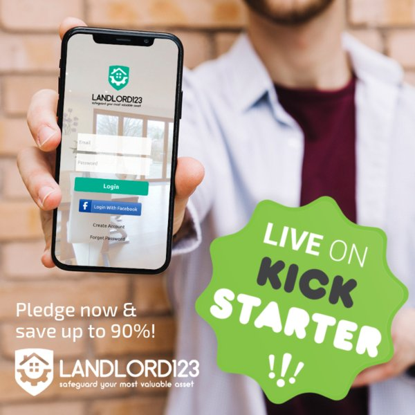 Landlord123 on Kickstarter