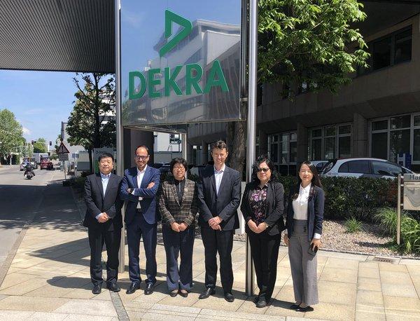 中国质量认证中心陆梅主任一行访问DEKRA德凯集团总部