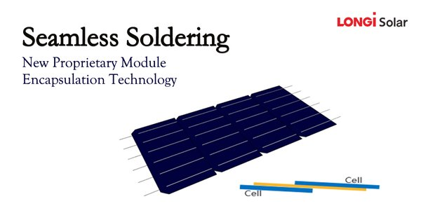 """Seamless Soldering"" - LONGi Announced New Proprietary Module Encapsulation Technology"