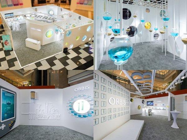 "ORBIS奥蜜思携手日本先锋艺术家  打造 ""water SPACE""创意快闪店"