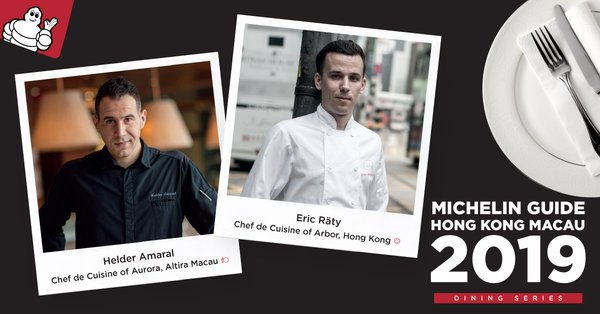 Michelin Guide Hong Kong Macau Continues the 2019 International Chef Showcase Series at Aurora in Altira Macau