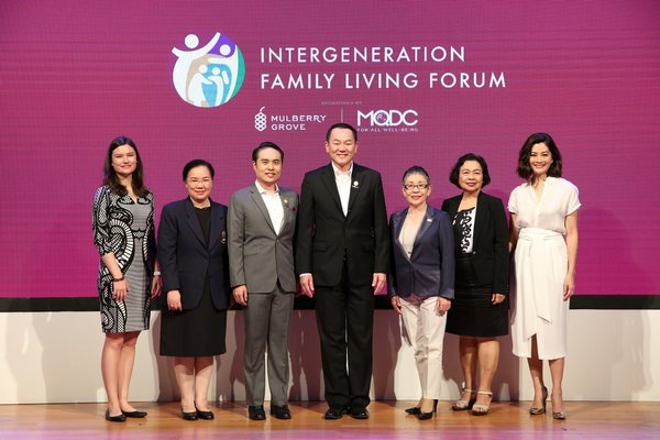 Thais crave the warmth and support of intergeneration living, reveals new research in attitudes to family life