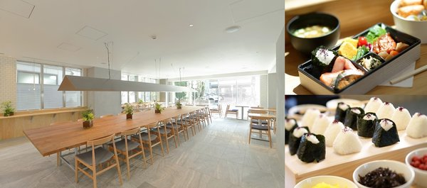 Japanese Ota-ku's food experience and sophisticated cafe / restaurant space
