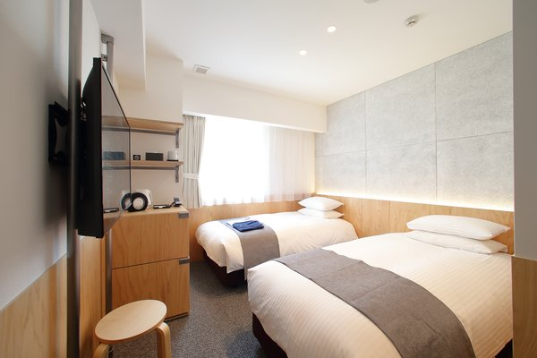 Photo: Twin room. (Single, Double, Triple and Universal room available)
