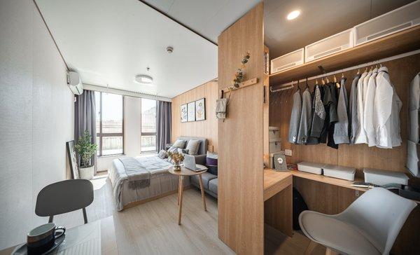 柚米寓房间实景