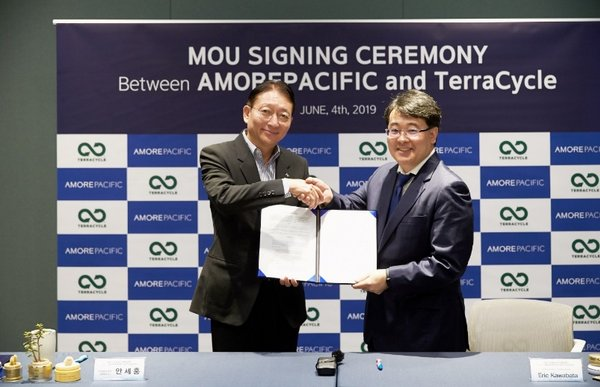 Amorepacific Signs MOU with TerraCycle to Recycle Empty Bottles