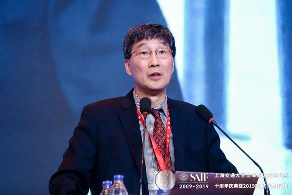 高金学术委员会主席王江发表主题演讲