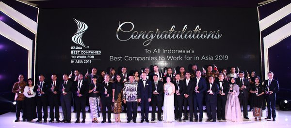 HR Asia Announces Indonesia's Best Companies to Work for in Asia