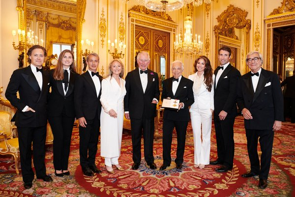 Ralph Lauren Family with His Royal Highness The Prince of Wales. Photo credit: Chris Allerton