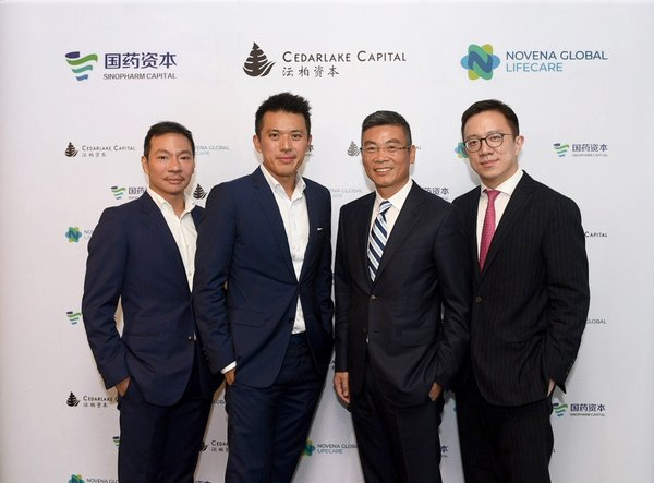 Novena Global Lifecare strikes strategic partnership with Sinopharm Capital and Cedarlake Capital to expand Asia footprint and create US$150 million Sino-Singapore Healthcare Fund