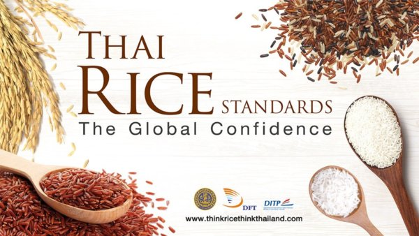 Thai Rice Standards Create the Global Confidence in Quality of the National Crop