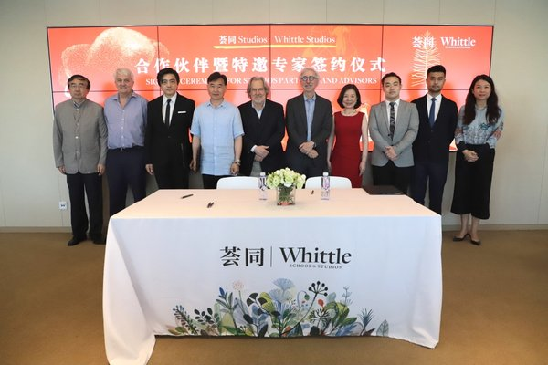 """Cultivating """"Soft Power"""" Outside the Classroom: Whittle School & Studios Holds Signing Ceremony with New Studios Partner and Expert"""
