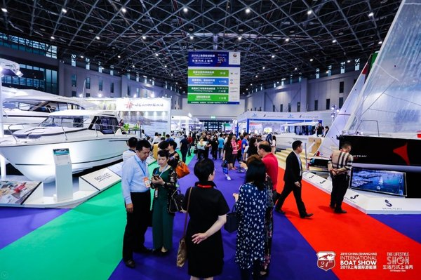 Real boats showed on CIBS 2019