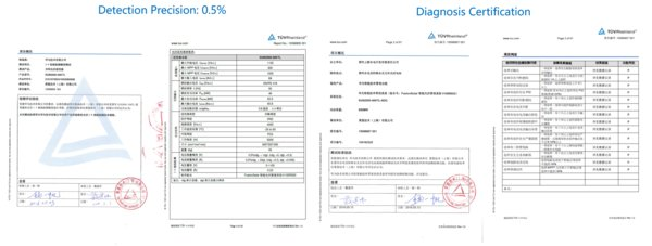 TUV 인증을 받은 Smart I-V Curve Diagnosis