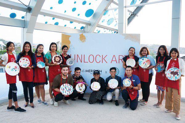 Le Meridien Bali Jimbaran partners with Jenggala for Unlock Art Programme