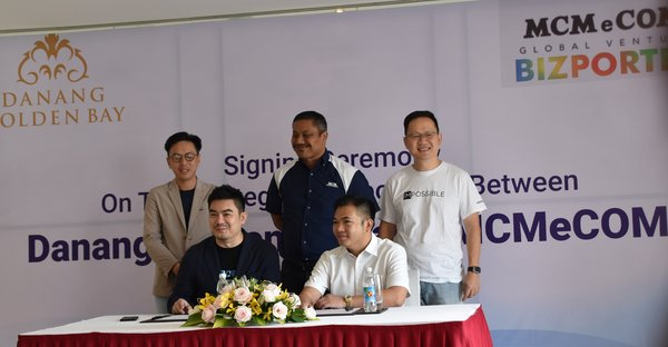 Danang Golden Bay Hotel Partnering with MCM eCom Global Venture Sdn Bhd to Launch Vietnam's First Hotel Retailing Mobile Application