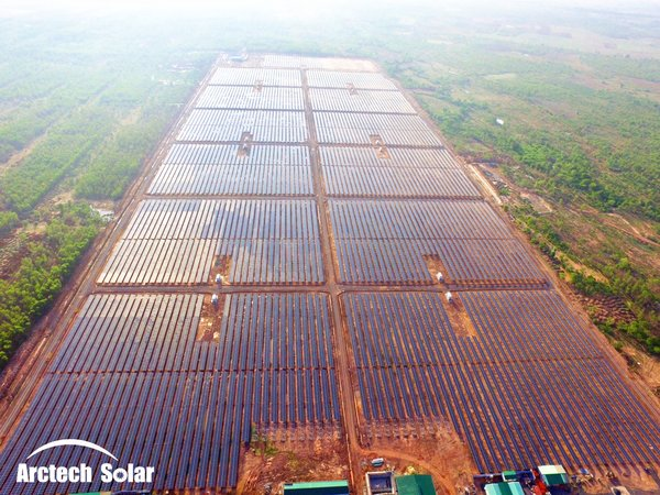 Arctech Solar Hit a New Record with 1GW Installed Capacity in Vietnam